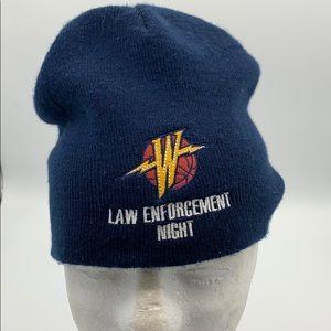 Golden State Warriors Law Enforcement Night beanie